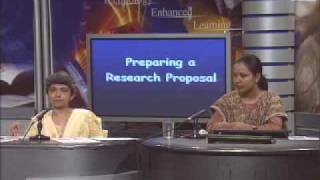 Preparing a Research Proposal