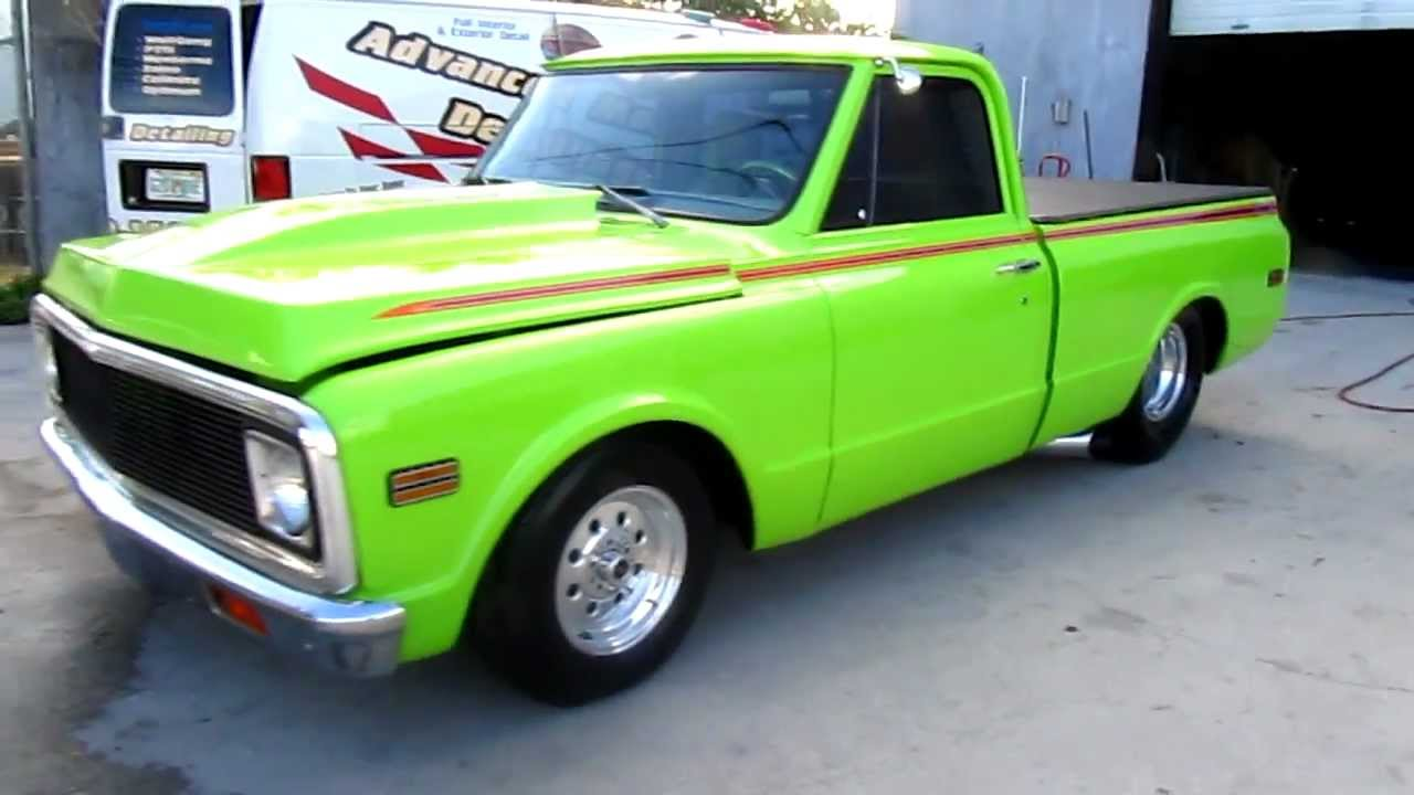 1972 Chevy For Sale >> '72 Chevy Truck Pro Street by Advanced Detailing of South Florida - YouTube