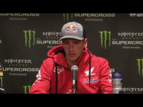 450SX Post Race Press Conference - Glendale - Race Day LIVE 2018