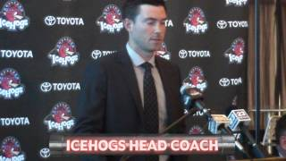 Introduction of Head Coach Jeremy Colliton