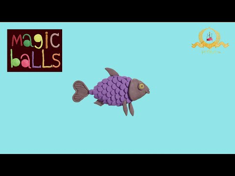 Magic Balls - Fish - Educational cartoons for kids