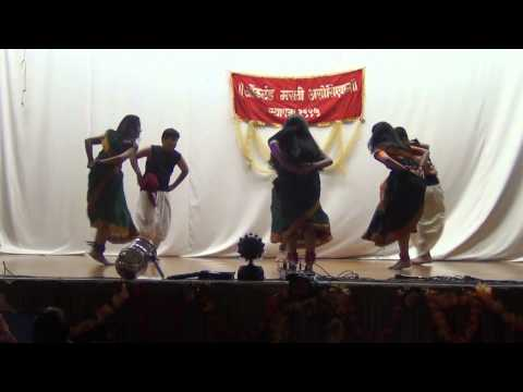 Auckland Marathi Asso. 2013. Ganapati Dance Lallati Bhandar