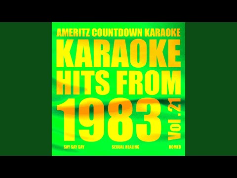 Seduce Me Tonight (In the Style of Cycle V) (Karaoke Version)