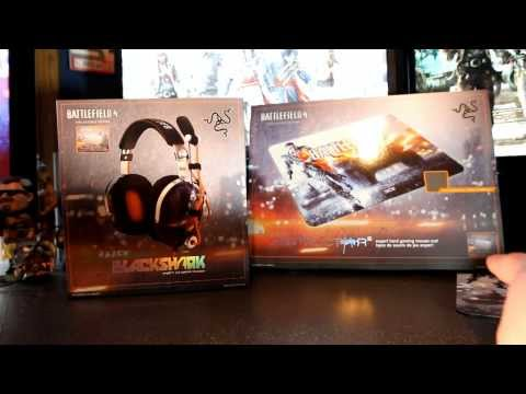 Battlefield 4 Limited Edition Razer Black Shark Headset and Destructor 2 Review