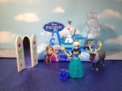 Disney Frozen Disney Queen Elsa Magiclip Doll Disney Princess Elsa Toy Playset
