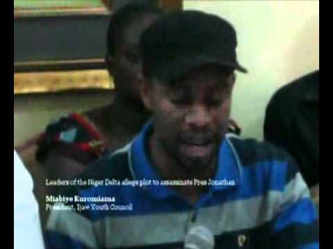 Leaders of Niger Delta on plot against Pres Jonathan.flv