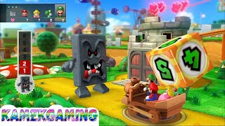 Mario Party 10 💚 Bowser Party Mode #18 Gameplay Mushroom Park