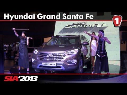 Hyundai Grand Santa Fe. SIA'2013