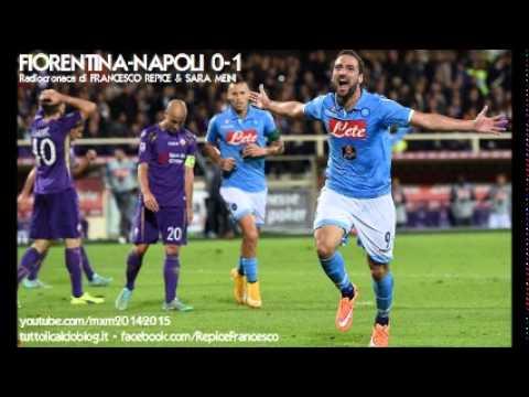 FIORENTINA-NAPOLI 0-1 - Radiocronaca di Francesco Repice & Sara Meini (9/11/2014) da Radiouno RAI