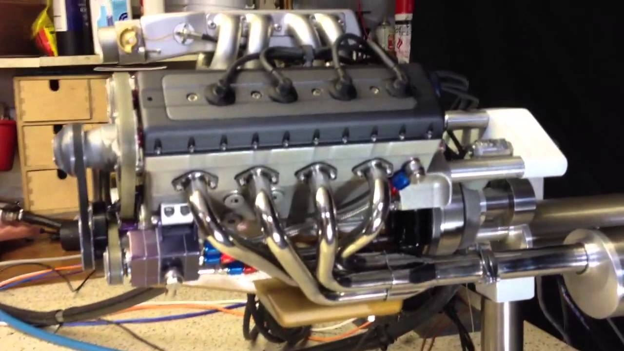 Model V8 Engine Electronic Fuel Injection Youtube