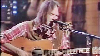 Neil Young - Harvest Moon - live tv