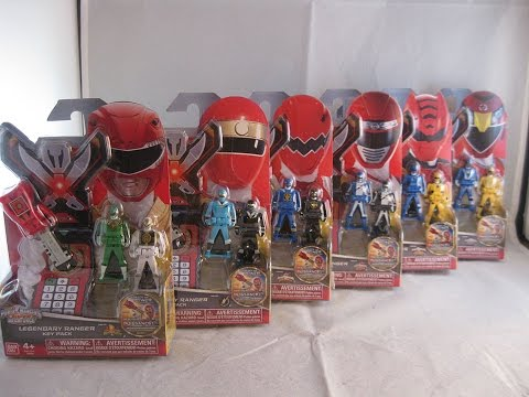 Legendary Ranger Keys Wave 4 Review (Power Rangers Super Megaforce)