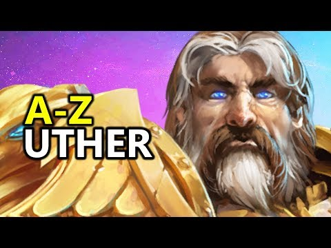 ♥ A - Z Uther - Heroes of the Storm (HotS Gameplay)