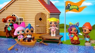 LOL Dolls Summer Camp Adventures - Baby Goldie & Punk Boi