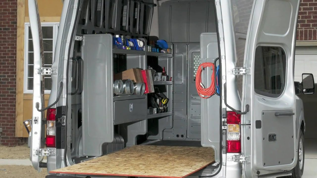 Nissan Nv Insider Innovative Cargo System Youtube
