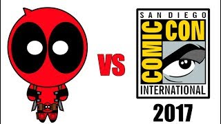 Deadpool vs Comic-Con 2017