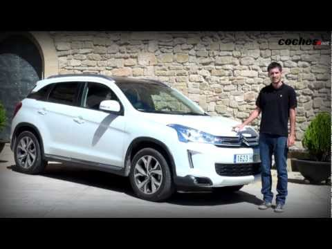 Citroën C4 Aircross - Prueba / Review (2012)