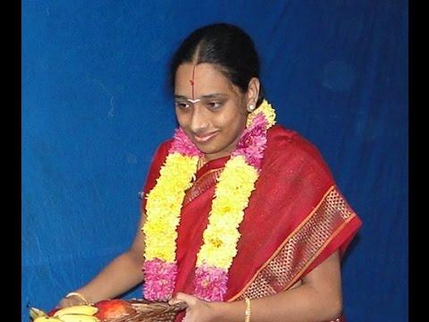 Pt(1)upanyasam Smt Prabha Senesh Sri Andal Tirukalyanam Highlighting Thiruppavai video