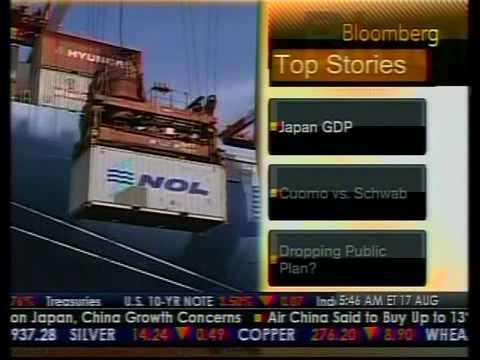 Japan GDP - Bloomberg