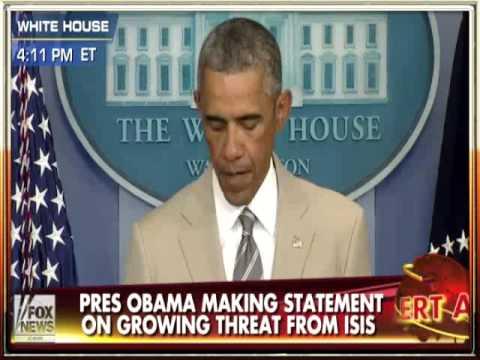 Obama addresses growing crises in Syria, Iraq and Ukraine