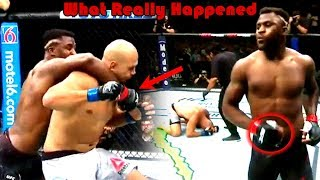 What Really Happened at UFC on ESPN 3 (Francis Ngannou vs Junior Dos Santos)