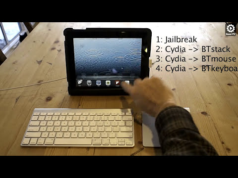 How to use an iPad with an Apple Trackpad