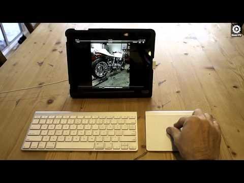 How to use an iPad with an Apple Trackpad