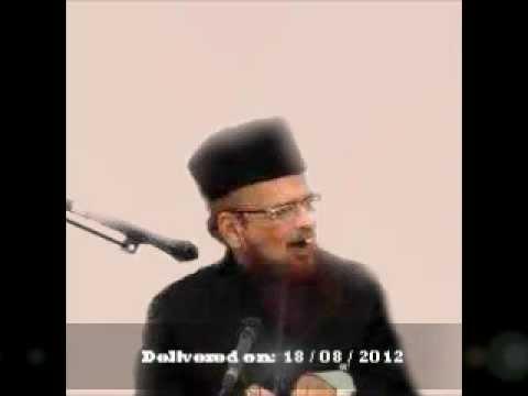 New - 18 Aug 2012 Shaikhul Islam Mufti Taqi Usmani D.b Bayaan- Sabr Aala Darja Ka Amal Aur Neki He video