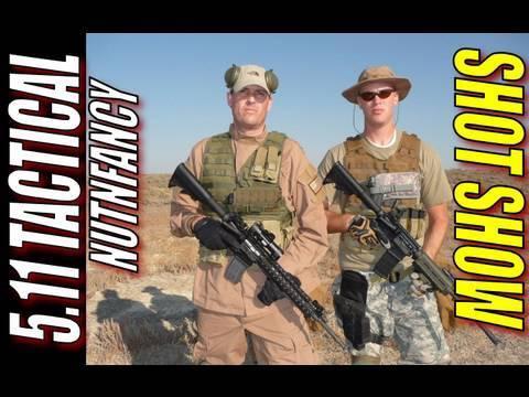 Nutnfancy SHOT Show: 5.11 Tactical