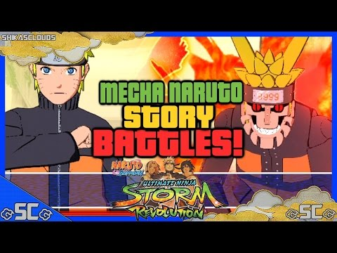 ●mecha Naruto Story Battles #8 | Naruto Vs Mecha Kyuubi | Naruto Revolution● video