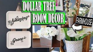 Dollar Tree DIY Farmhouse Room Decor
