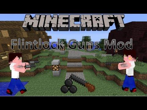 Minecraft 1.6.2 Mody - Flintlock Guns (Armata sieje spustoszenie!)