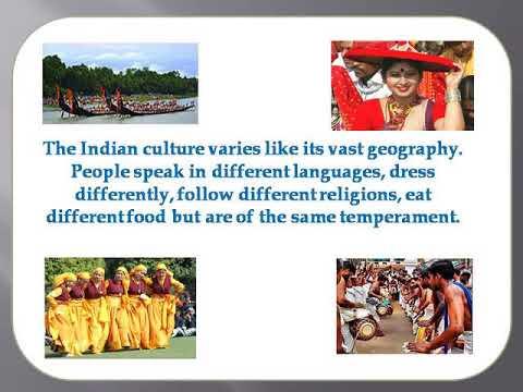Culture of India  a presentation