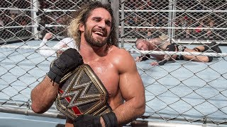 Seth Rollins vs. Randy Orton - World Heavyweight Championship Steel Cage Match: Extreme Rules 2015