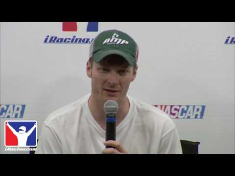 Dale Earnhardt Jr talks about iRacing