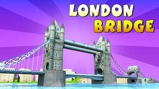 London Bridge is Falling Down || 3D Animation Nursery Rhymes Songs || KidsOne
