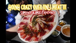 Going Crazy Over Unli Meat!!! Samgyupsalamat Experience