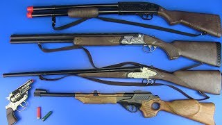 Hunter Guns Toys for Kids ! THE BEST HUNTING RIFLE - Video for Kids
