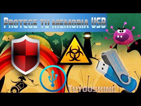 Como vacunar una usb[Protege tu USB] // Descargar antivirus para memoria usb