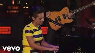 Alicia Keys If I Ain 39 T Got You Live On Letterman