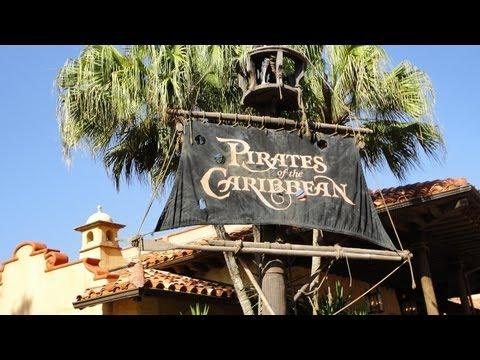 Disney's PIRATES OF THE CARIBBEAN - On Ride Pandavision - Nightvision  - Magic Kingdom -Disney World