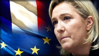 MARINE LE PEN PROMISING FRANCE THEIR OWN REFERENDUM TO LEAVE THE EU