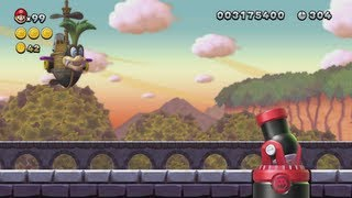 New Super Mario Bros. U - Soda Jungle (Complete World 5)