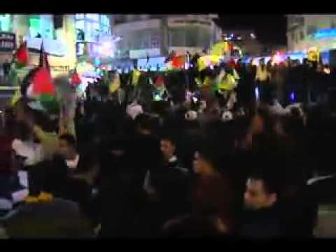 Palestine Celebrates UN Status With Singing & Dancing In The Streets