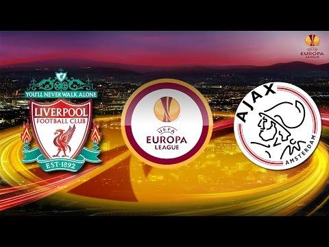 PES 2015 UEFA Europa League Liverpool F.C. vs AFC Ajax Quarter Final