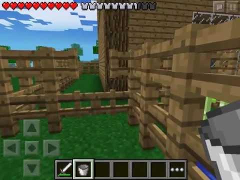 Let's play Minecraft Pocket Edition #12 - Занимаемся фермерскими делами часть 2