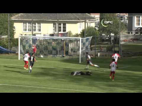 OFC TV Production - Copyright OFC TV © April 2013 FULL MATCH REPLAY : http://youtu.be/LQUu_pIw9g4 New Zealand side Auckland City have beaten New Caledonia's Mont-Dore 12-2 at Kiwitea ...