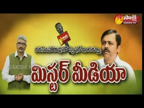 BJP MP GVL Narasimha Rao Exclusive Interview || Sakshi TV - WatchExclusive