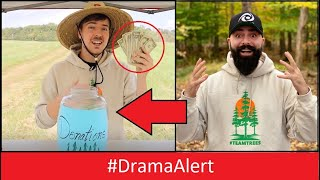 MrBeast called me ( SHOCKING ) LEAKED PHONE CALL! #DramaAlert #TeamTrees