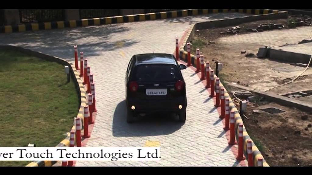 Driving Test Track For Two Wheeler Automated Driving Test Track